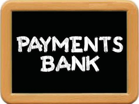 what are payment banks payments bank business line