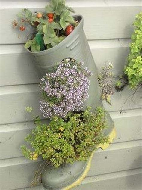 Recycled Planter by Recycled Shoes Garden Planters Recycled Things