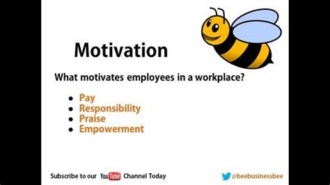 bee business bee bee business bee motivational theories tutorial
