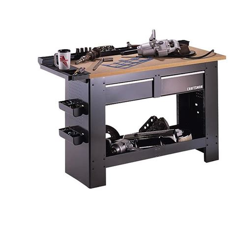 sears work bench craftsman 65525 2 drawer workbench sears outlet