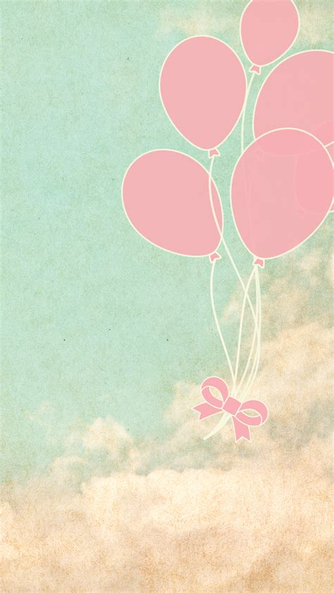 wallpaper iphone 5 hd vintage vintage balloons iphone 5 byme cute design