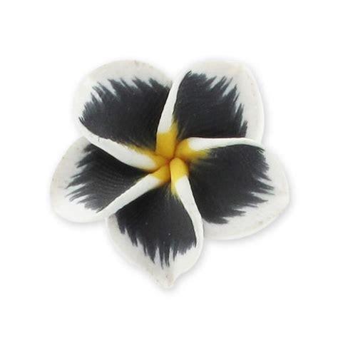 fiore fimo fiore fimo mm 20 nero x1 perles co