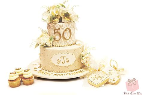Wedding Anniversary Cakes » Pink Cake Box Custom Cakes & more