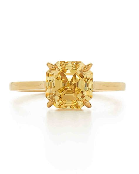 Yellow Gold Engagement Rings Yellow Gold Engagement Rings by Yellow Engagement Rings Martha Stewart Weddings