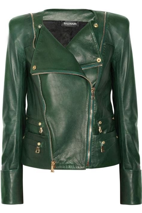 green motorcycle jacket 645 best leather jackets images on pinterest