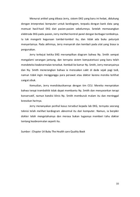 Cp Care Pendek chapter 14 buku the health care quality book