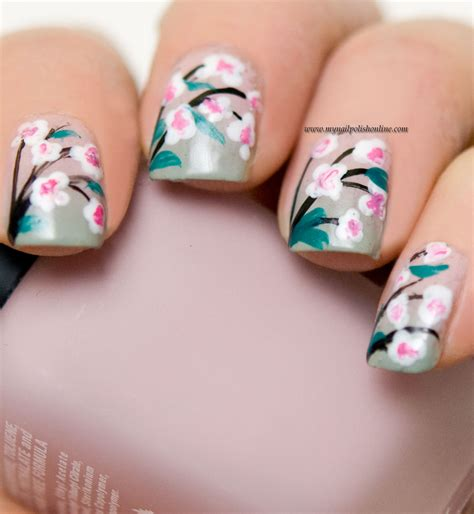 nails blumen nail flowers my nail