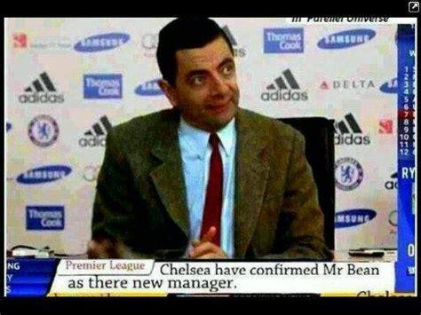 chelsea jokes mr bean to be new chelsea s manager jokes etc nigeria
