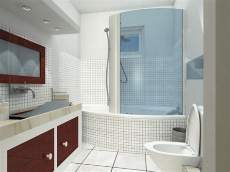 kleine bäder einrichten einrichten badezimmer dekor