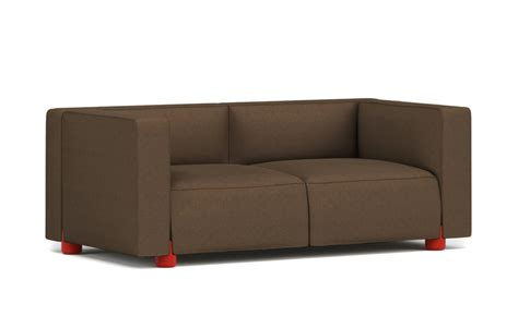 barber osgerby compact two seat sofa hivemodern