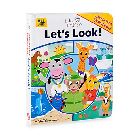 Lets Up The Look Book by Buy Baby Einstein Let S Look Look And Find Book