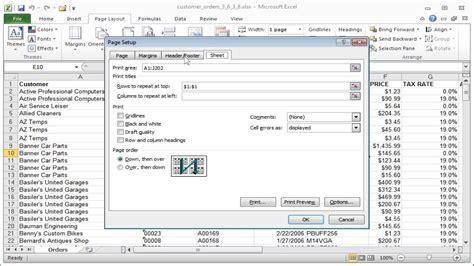 format excel gridlines excel gridlines printing gridlines column and row