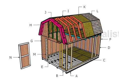 barn shed roof  loft howtospecialist