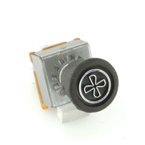 light fan heat switch 3 speed heater fan switch with rubber knob car builder