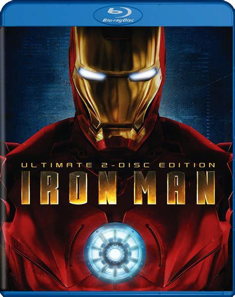 Dvd Bluray Ironman iron chemical elements