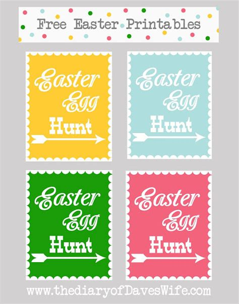 easter egg hunt template free 46 amazing easter eggs and easter egg hunt tutorials tip