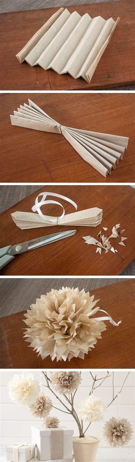 Craft Paper Decorations - 14 diy decor ideas paper pom poms paper poms