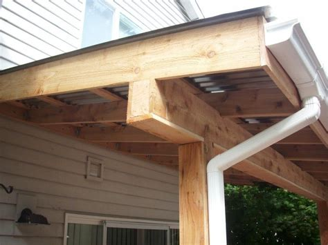 wood l post designs corrugated patio cover deck masters llc portland or