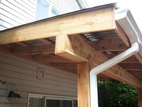 Corrugated patio cover   Deck Masters, llc   Portland, OR