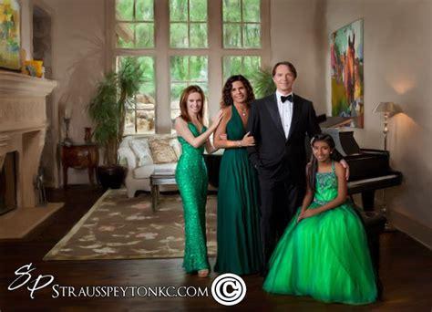 formal family portraits christmas family portrait