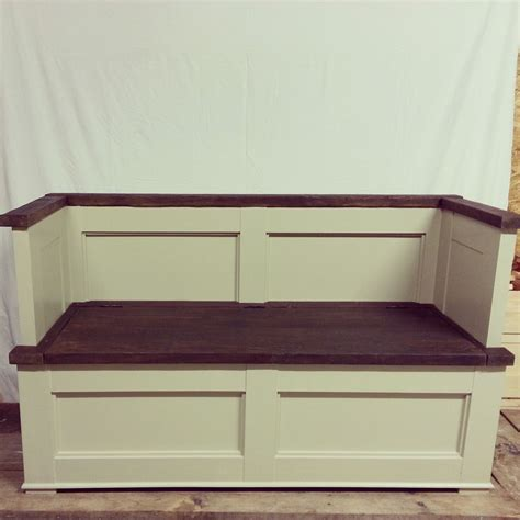 Bench Seat With Storage Storage Bench Seat Pdf Woodwork Storage Bench Seat Plans Diy Plans The Faster Easier Way To