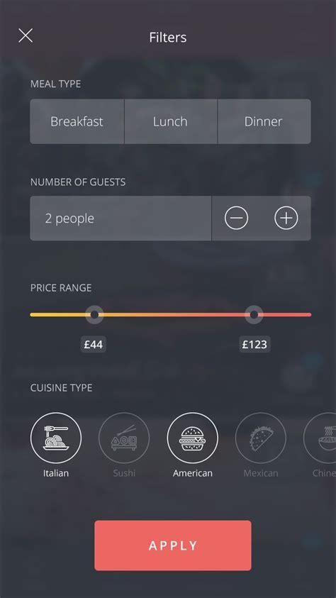 filter apps 1087 best images about ui design on app design