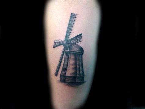 windmill tattoo lucky bamboo tattoos feminine black and grey