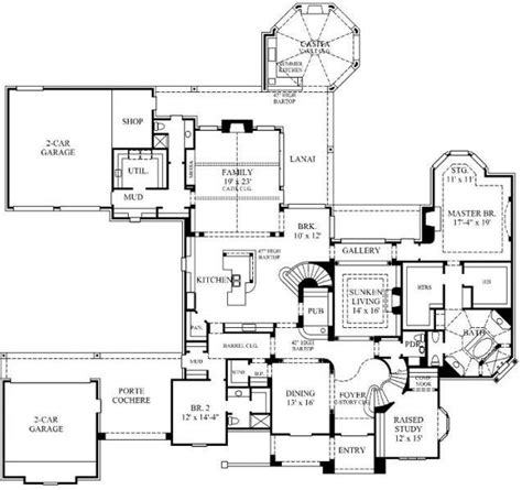 english house floor plans 4 bedroom 7 bath english country house plan alp 08y9