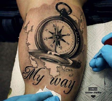 compass tattoo einfach die besten 25 kompass tattoo ideen auf pinterest tattoo