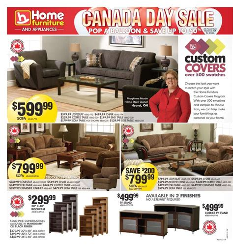 home furniture flyer jun 20 to jul 1