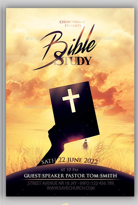 bible study flyer template free 41 church flyer templates free premium