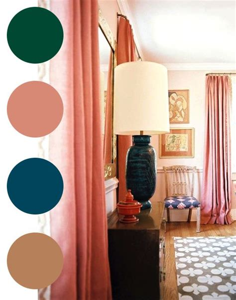 color palette ideas for bedroom coco kelley color palette green salmon teal sand house