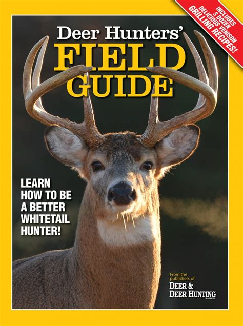 whitetail deer facts and strategies books deer hunters field guide available exclusively at walmart