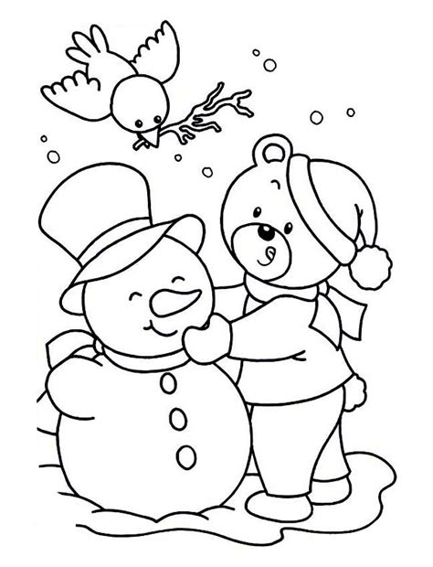 kawaii winter coloring book a winter coloring book for adults and kawaii characters chibi winter and activities books winter coloring pages bestofcoloring