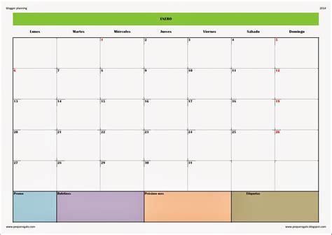 Planning Mensual 2016 Para Imprimir   Calendar Template 2016