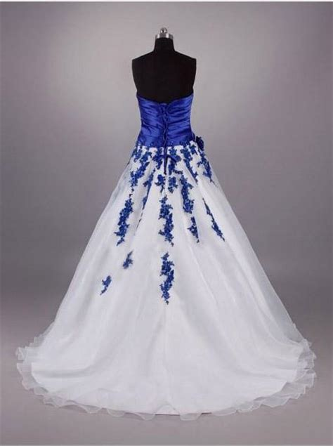 white and blue wedding dresses white and royal blue wedding dresses www pixshark