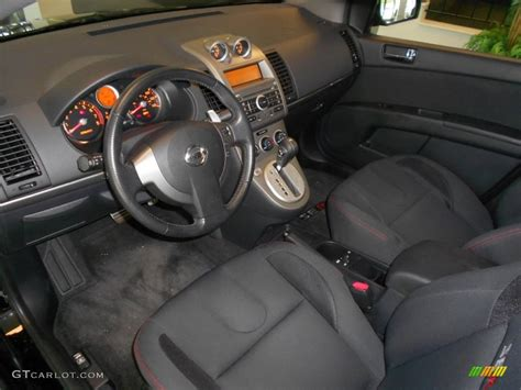 2008 Nissan Sentra Interior by Se R Charcoal Interior 2008 Nissan Sentra Se R Photo