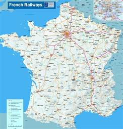 France Train Map by About France Com Travel Detailed Map Of The French Rail