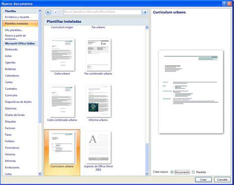 Modelo De Curriculum Vitae Para Word 2007 Como Hacer Un Curriculum Con Word Taringa