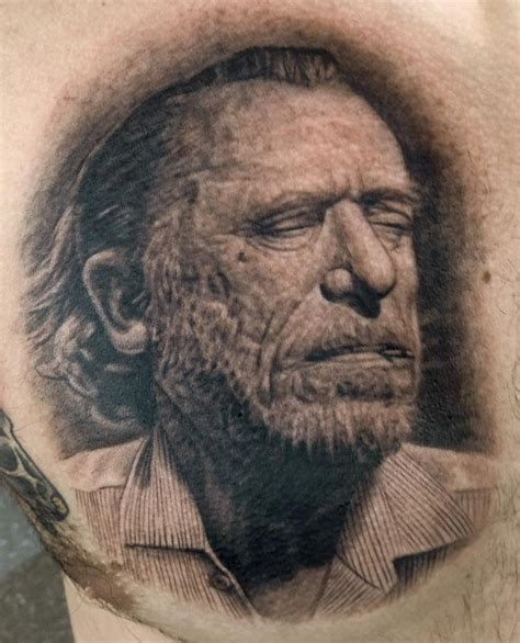 st charles tattoo charles bukowski by pepper tattoonow