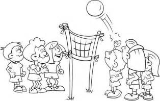 volleyball coloring pages coloring pages volleyball coloring book pages kids coloring pages