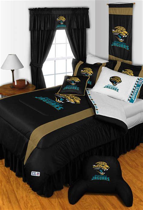 nfl bedrooms nfl jacksonville jaguars bedding and room decorations