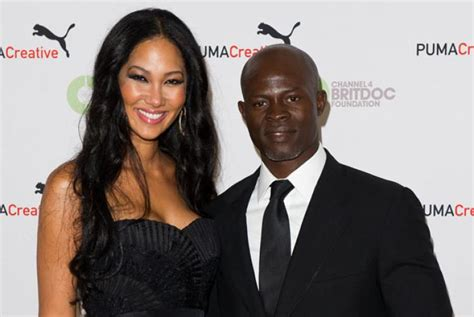 Kimora Simmons New Boyfriend Dijimon Hounsou Snarky Gossip by Kimora And Djimon Split Say Sources Ny Daily News