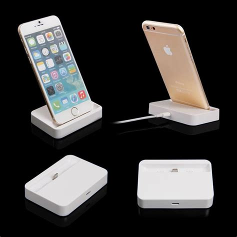 Lightning Charging Dock For Iphone Charger Tempel Wireless Murah Ori Portable Charging Dock Station Charger Stand