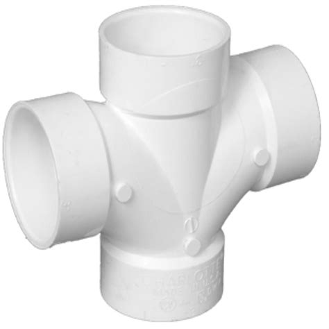Pvc Plumbing Fittings by Shop Pipe 4 In Dia Pvc Sanitary Fitting At