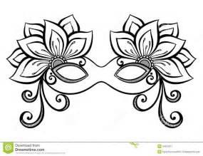 Masquerade masks drawingsmasquerade mask stock image image 34573211