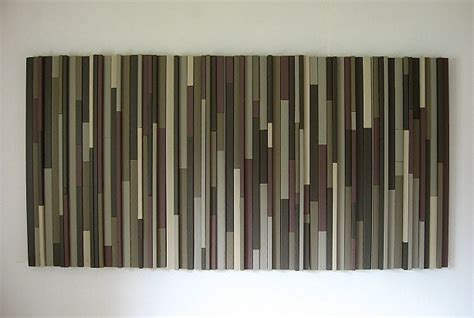 Wall Headboard taupe wood strip wall art home decor pinterest taupe