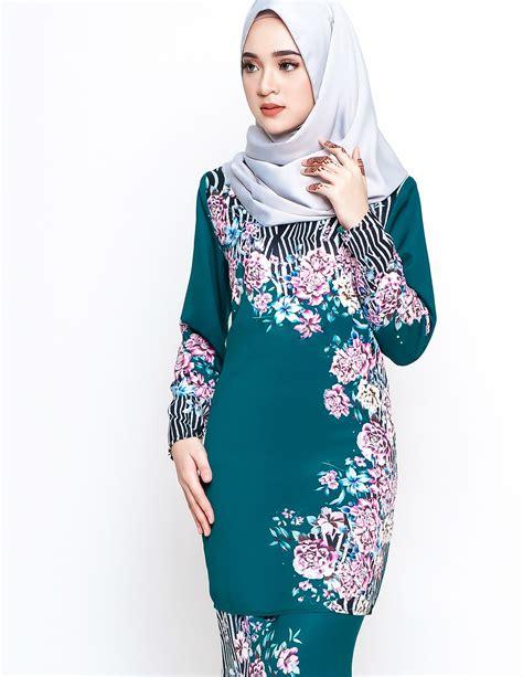 Baju Kurung Moden Warna Hijau Zamrud baju kurung warna turquoise baju kurung warna turquoise baju kurung moden daeva