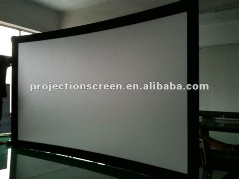 Fixed Frame Screen 133 Inci White Jk fixed frame screen with black velvet buy picture frame projection screen aluminum frame