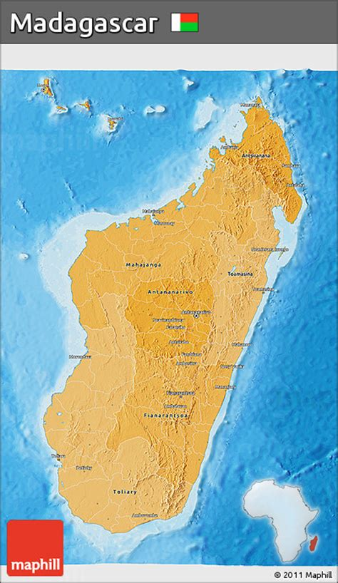 political map of madagascar free political shades 3d map of madagascar